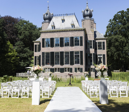 Huwelijk van L&V, Kasteel Oud Poelgeest, Oegstgeest, credit Moniek van Gils
