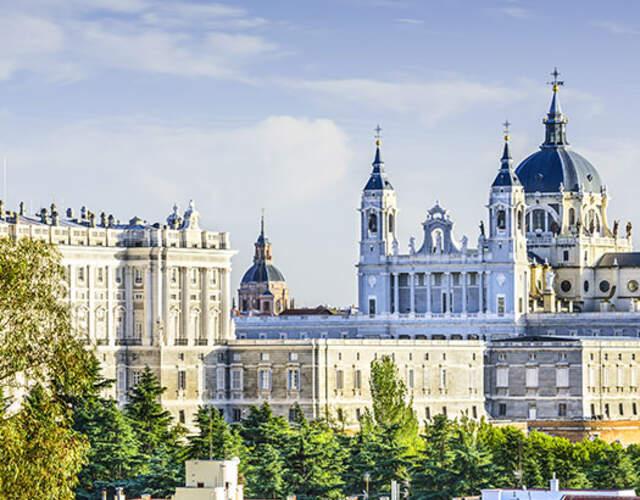 Vendors in Madrid