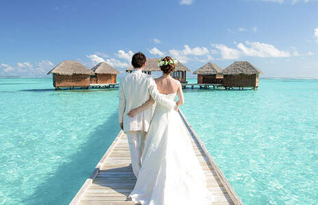 Search for your destination wedding in Maldives